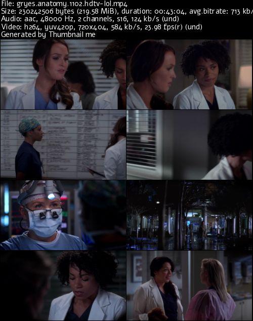 Greys Anatomy Complete S11 HDTV x264- Scene