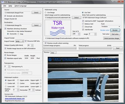 TSR Watermark Image Pro 3.4.3.5 Multilingual + Portable