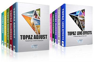 Topaz Plug-ins Bundle for Adobe Photoshop DC 31.08.2015 (Win/Mac)