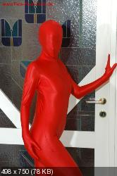 Cynthia In Red Fullbodysuit.zip