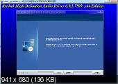 Realtek High Definition Audio Drivers 6.0.1.7509 Vista/7/8/8.1 + 5.10.0.7492 XP
