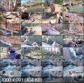 BrokeModel - Kenzlee - Fuck's Herself In The Woods [FullHD 1080p]