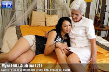 Myra (60), Audrina (21) (lesbian-alex349) (2015) HD 720p