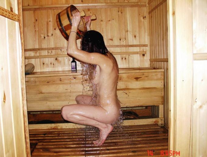 жесткое фото в бане или сауне