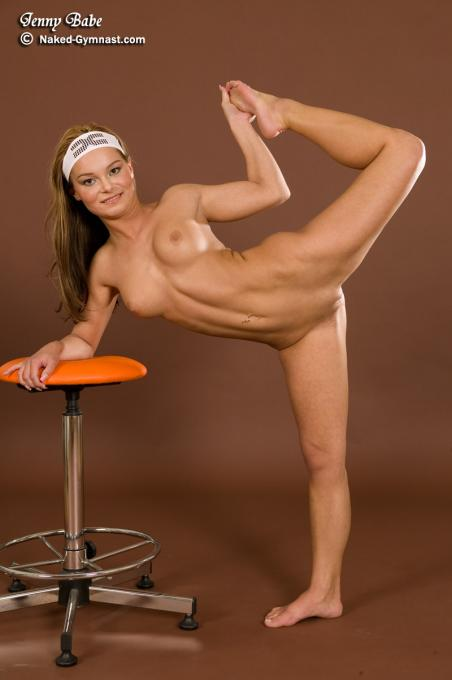 Flexible gymnast amateur babe spreading stretching 3