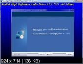 Realtek High Definition Audio Drivers 6.0.1.7523 Win10 + 5.10.0.7492 XP