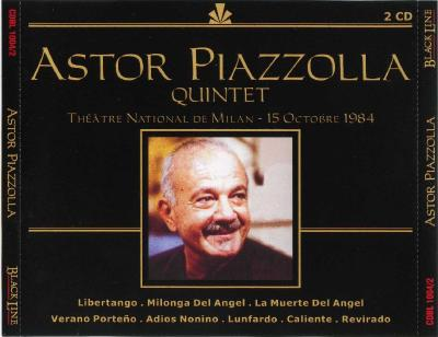 Astor Piazzolla – Quintet, 2CD / 2003 Promo Sound Ltd.