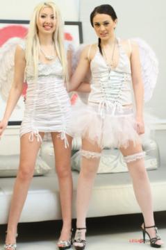 Angel Blond, Masha Cortez - Angel Blond and Masha Cortez Black Sliders Video SZ106 (2013) HD 720p