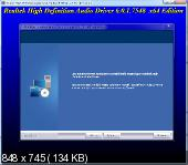 Realtek High Definition Audio Drivers 6.0.1.7548 Vista/7/8.x/10 + 5.10.0.7508 XP