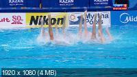 Чемпионат мира. Синхронное плавание. Команды. Произвольная программа. Финал [31.07] (2015) HDTV 1080i