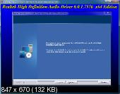 Realtek High Definition Audio Drivers 6.0.1.7576 Vista/7/8.x/10 WHQL + 5.10.0.7510 XP