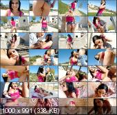 PublicInvasion - Abbie Cat - Hungarian Brunette Gets Pounded In The Ass In Public [HD 720p]